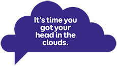 It's time you got your head in the clouds